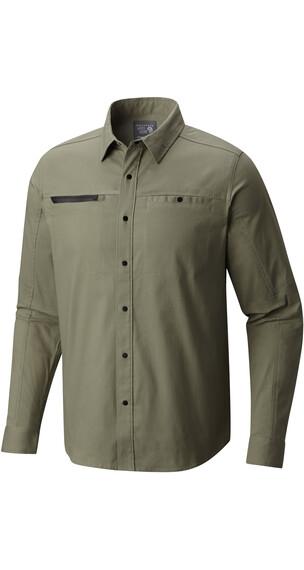 Mountain Hardwear M´s Hardwear AP Shirt Green Fade